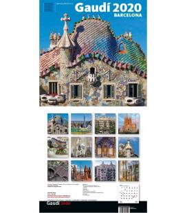Calendario de pared La Pedrera grande