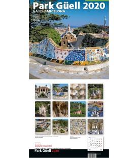 Calendari de paret Gaudí gran