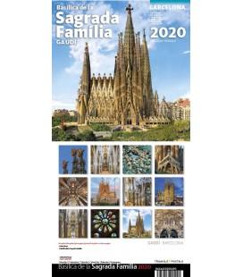 Calendrier mural Sagrada Familia