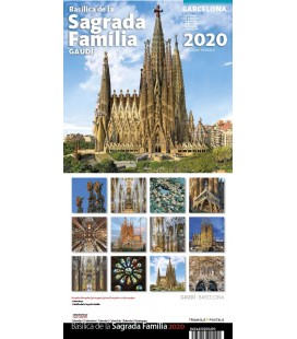Sagrada Familia Wall Calendar