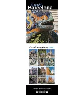 Gaudí Barcelona Mini Desktop Calendar