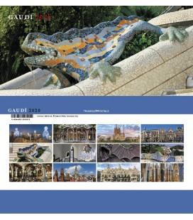 Barcelona Panoramic Desktop Calendar