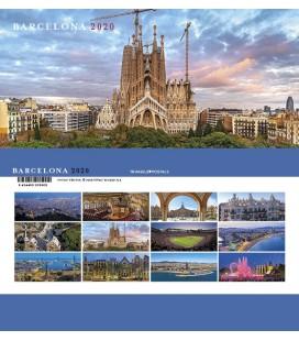 Barcelona Mini Desktop Calendar