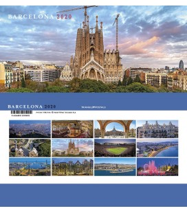 Calendario de sobremesa mini Barcelona