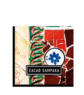 Chocolat Gaudí Mosaïque Fleur d'Oranger