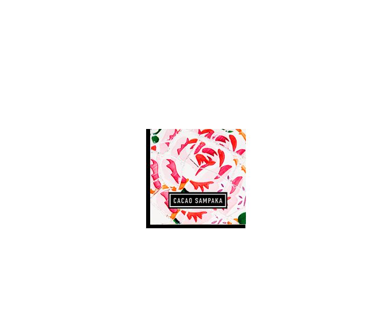 Chocolate Gaudi Mosaic Rose