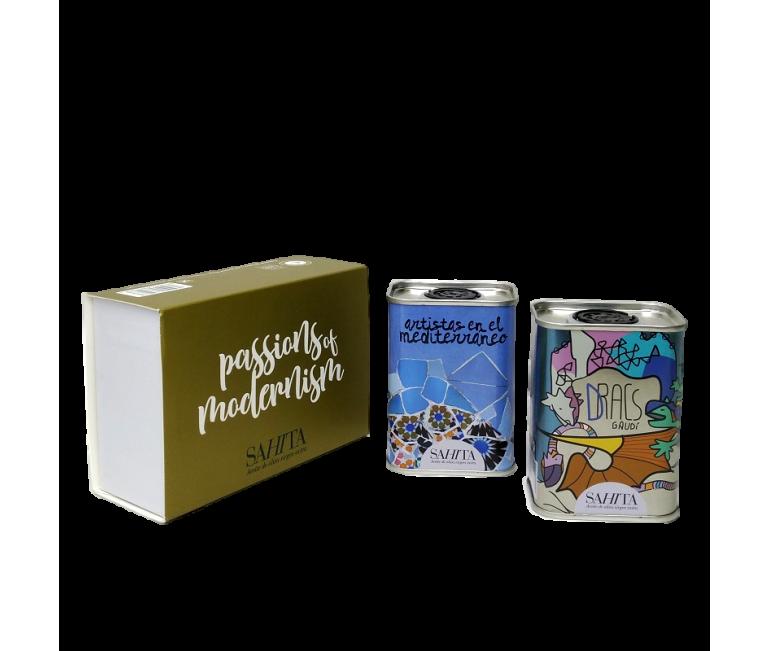 Pack Duo Pasiones del Modernismo