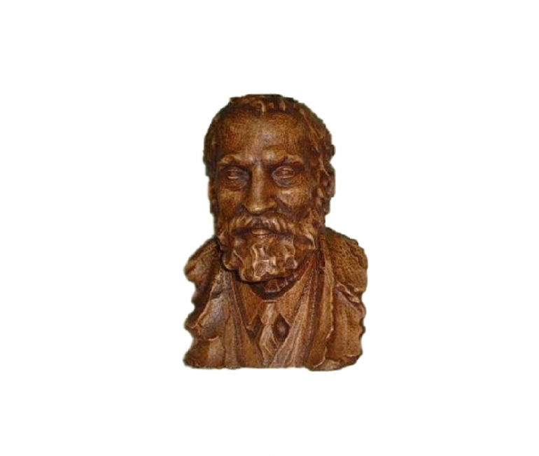 Gaudi bust in carved beech