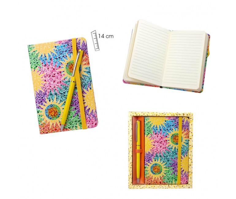 Notebook With Pen Gaudí Multicolor