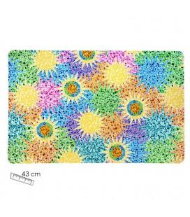 Set of 6 mats Gaudi Multicolor
