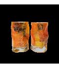 Set of 2 Drams of Glass Triana Dakar