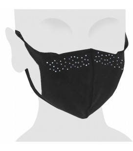 Elegance Swarovski Cotton Face Mask