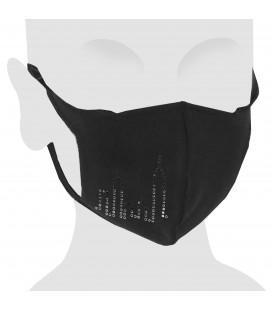 Masque en coton avec Swarovski Skyline