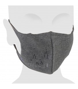 Skyline Swarovski Cotton Face Mask