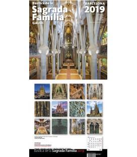 Sagrada Familia Big Wall Calendar
