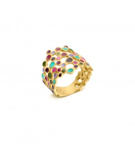 Barcelona Gaudi Colors Golden Ring