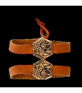 Bracelet doré Pavé Gaudí