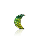 Gaudi Trencadis Green Moon Pendant
