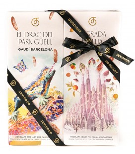 Pack 4 Chocolats Gaudí