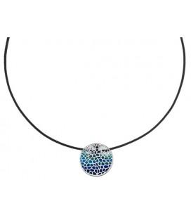 Gaudí Barcelona Small Silver Necklace