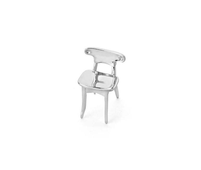 Batllo Chair Miniature in Silver