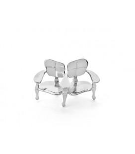 Miniatura Banc Batlló en plata