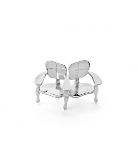 Miniature Bench Batllo in Silver