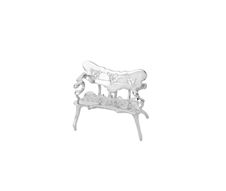 Miniatura Banco Casa Calvet en plata