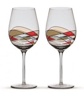 2 Copas de Vino Gaudí Terra