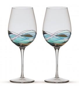 Deux verres à vin Gaudí Terra