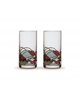 Two Shot Glasses Gaudi Terra