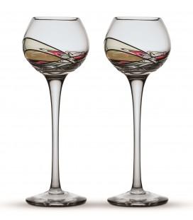 Two Grappa Glasses Gaudi Terra