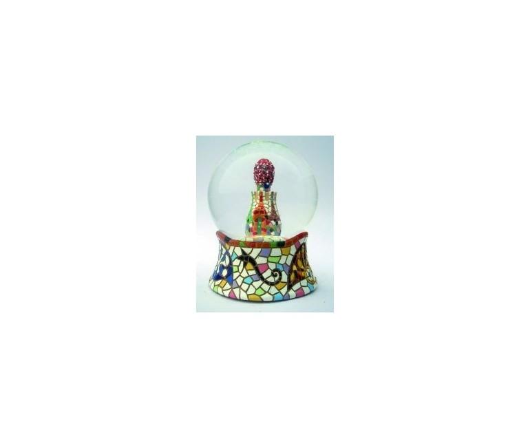 Bola de nieve de cristal Portería 6,5 cm