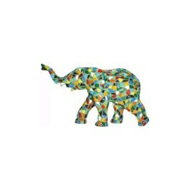 Middle elephant 12cm